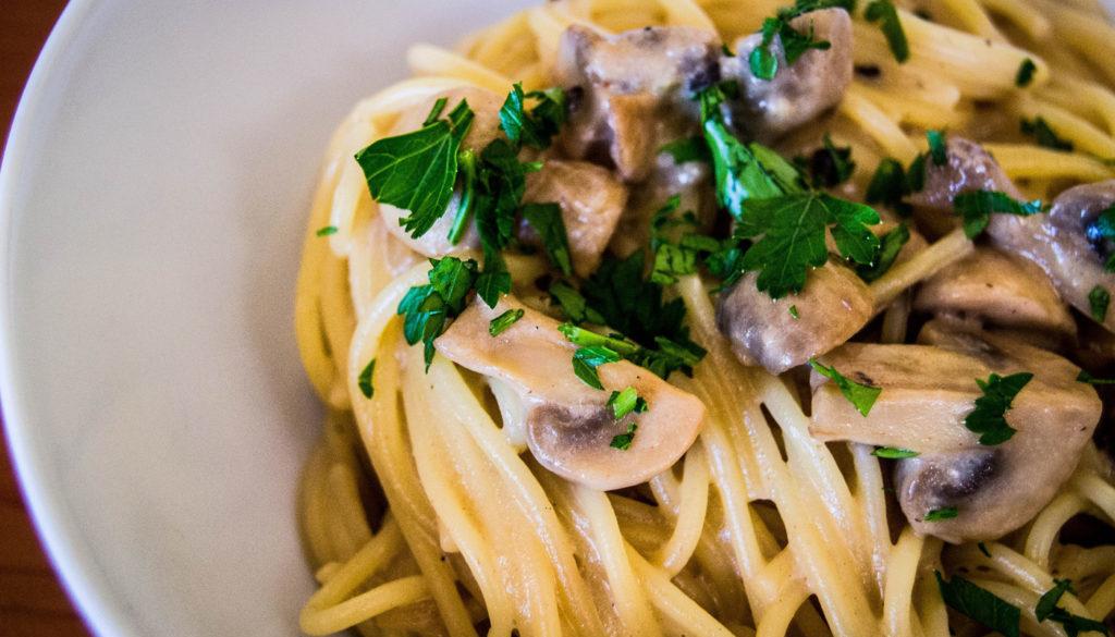 Italian Mushroom Pasta